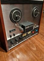 Teac A-2300SX Reel To Reel Player Vintage Tape Deck Working