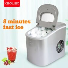 Mini Ice Maker Electric Bullet cylindrical Ice machine 12kg/24h