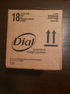 Dial Lavender & Twilight Jasmine soap case - 36 bars