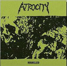 "Atrocity – Mangled 12"" Vinyl Re (2016) Death Metal Grindcore"