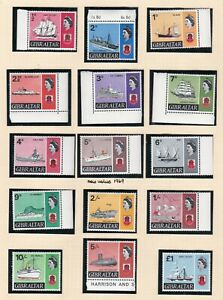British Commonwealth. Gibraltar. FIVE PAGES 1967 Ship set plus others to 1969.