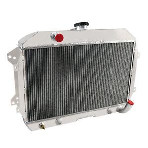 4 Reihe 62mm Aluminium Kühler Für Nissan/Datsun 240Z 1970-1973 260Z 74-75 1975