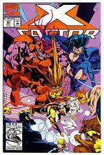 X-FACTOR #80 (7/92)--NM / Peter David-script, Larry Stroman/Milgrom-art/cover^