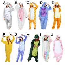 Unisex Adult Kigurumi Animal Character Costume Bodysuit Pyjamas Fancy 1Onesie1