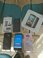 HTC One M8 - 16GB - great condition fault with camera