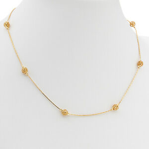 925 Sterling Silver Gold Plated Elegant Ladies Choker Necklace Fashion Jewellery