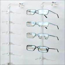 Optical Display - Acrylic Wall Mount Eyewear Display Rod with 14 Regular Y-clips