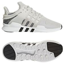 sports shoes a1629 2cc45 adidas MENS EQT SUPPORT ADV TRAINERS WHITE SHOES SNEAKERS RUNNING 3  STRIPES GYM