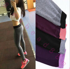 Fashion Women's Sport Running Quick-dry Stretchy Slim Leggings Yoga Ninth Pants