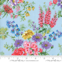 WILDFLOWERS IX Moda Quilt Fabric 3 yds Moda sewing bluebell Floral pink 33381-16