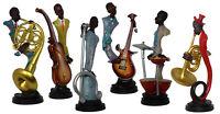Musicale Artista Figura Decorativa Statua Africana Scultura