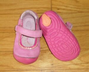 Stride Rite Baby Girl Shoes Size 4.5M Savanah Mary Jane PINK