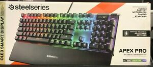STEELSERIES 64622 APEX PRO KEYBOARD
