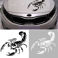 Black 3D Scorpion Car Stickers Car Styling Sticker for Cars Decors P