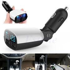 Universal Mini LED Dual USB Car Charger 2 Port Adapter Cigarette Socket Lighter