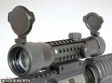 4x28 CANNOCCHIALE/si adatta a coda di rondine & WEAVER FUCILE binari/rotaie Tactical Scope +