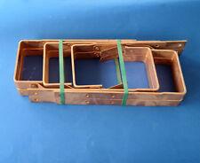 10 Stück Kastenrinneisen Kastenrinnenhaken Kupfer 6-teilig 33-30/5 Rinnhaken