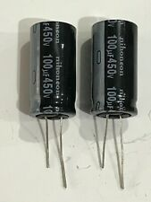 100uF 450V 105C ELECTROLYTIC CAPACITORS PACK OF 2