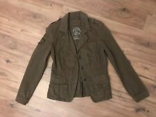a451b972de18b7 Jeans Jacke Übergangsjacke Blazer Gr 38 dunkel GRÜN toller Schnitt ❤️