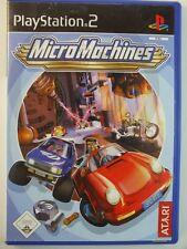 !!! PlayStation ps2 juego Micro Machines, usados pero bien!!!