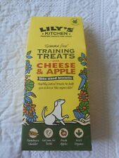 Lily's Kitchen Organic Training Treats Cheese & Apple 100g  BRAND NEW