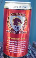 2014 XXXX Bitter Broncos 25 Years  Bottom Opened Empty Limited Edition