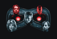 Terminating Loop Poster - Sam Gilbey - Limited Edition of 10 - Terminator 1 & 2