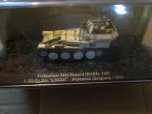 WW2 GERMAN FLAKPANZER  TANK GEPARD ARDENNES (BELGIUM) 1994 MODEL