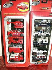 Hot Zone  metal-cast emergency & rescue  vehicle   gift-pack