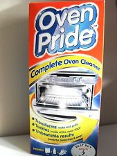 Oven pride Complete  Oven & BBQ Cleaner ,New