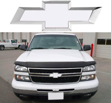 Colormatched Summit White Vinyl Bowtie Overlay For 1999-2006 Silverado New USA