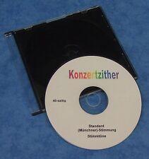 Zither Konzertzither - Stimmtöne auf CD