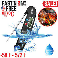 Digital Electronic Kitchen Cooking BBQ Grill Food Meat Thermometer Instant Read