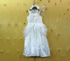 Bambine Barbie Costume Età 4-6 anni M&S travestimenti Vestito Abito Bianco Angel