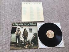 Gay and Terry Woods - tender hooks LP 1978 Mulligan + insert Ireland orig press