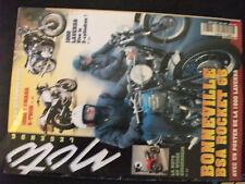 ** Moto Légende n°84 Poster 1000 Laverda / Bultaco Metralla / Yamaha 250 RD