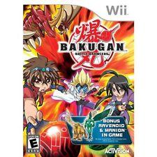 Bakugan Battle Brawlers w/ Exclusive Bonus Ravenoid & Manion (Wii, 2009)