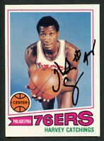 Harvey Catchings #81 signed autograph auto 1977-78 Topps Basketball Trading Card