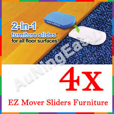 4x EZ Mover Sliders Furniture Lifter Moves Moving Lifting System No Lifter