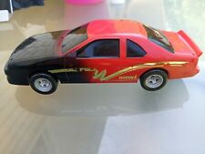 Vintage 1992 Buddy L Red And Black Car with Gold Stripes