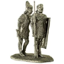 Rome. Centurion and legionary. Tin toy soldiers 54mm miniature metal sculpture