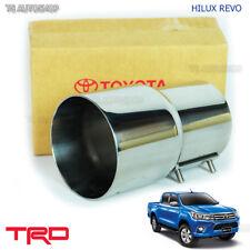 TRD Pipe Muffler Cutter Exhaust Fit Toyota Hilux Revo Sr5 Genuine 2015 2016 2017