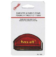2 Fuzz Off Sweater Clothes Comb Lint Remover Shaver