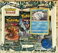 Pokemon TCG Ultra Prism 3 Booster Pack Blister!! Alolan Vulpix Promo NEW SEALED