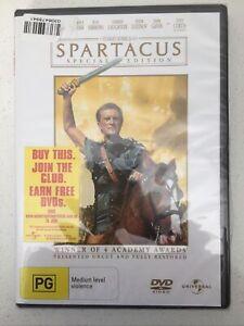 Spartacus (Special Edition): Australian Region 4 DVD - New In Shrink Wrap