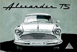 Blechschild 20 x 30cm, LLOYD, Auto, Nostalgie