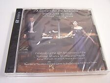 Sealed MARIA JOSE MONTIEL 2013 Concert For The Americas CD Rare LIMITED EDITION!