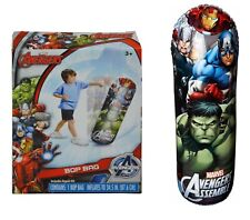 Marvel Avengers Bop Bag Toy for Kids Holiday Christmas Birthday Gifts For Kids