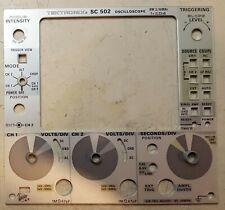 Tektronix Sc502 Front Panel