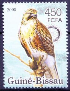 Guinea Bissau 2005 MNH, Birds of Prey, Eagles, Rotary, Michel cat no GW 3239